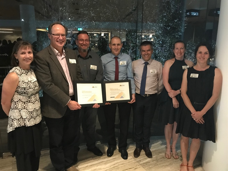 River Basin Management Society Award winners