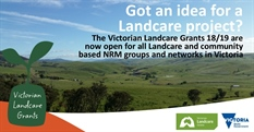 Victorian Landcare Grants Open