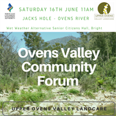Ovens Valley Community Forum