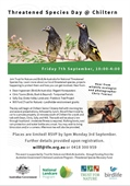 Threatened Species Day at Chiltern