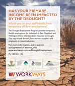 CMA Drought employment program about to commence