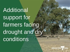 Drought and Dry Conditions Announcements