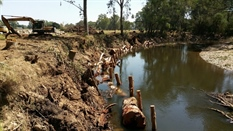 Erosion Control Works Along Ovens River and Deep Creek