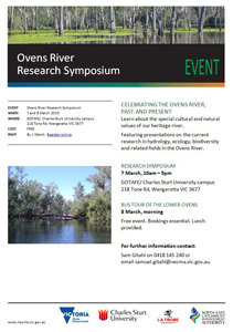 Ovens River Research Symposium