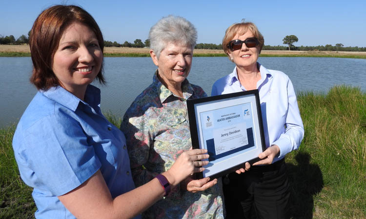 Water Ambassador Building Bright Future for Brolgas in Rutherglen