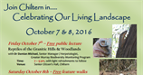 Celebrating Our Living Landcape