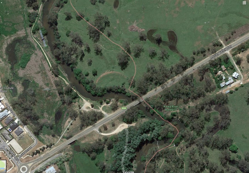 Kiewa River work protects public infrastructure