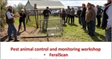 Pest animal control and monitoring workshop