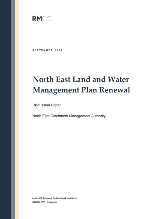 North East Land and Water Management Plan Renewal